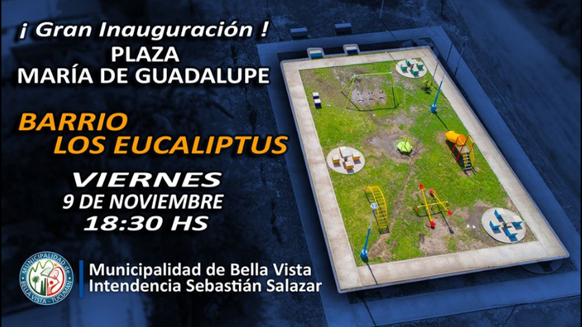 Inauguracion plaza Maria Guadalupe